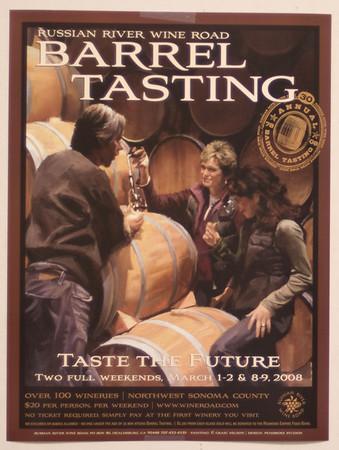 Sonoma Barrel Tasting