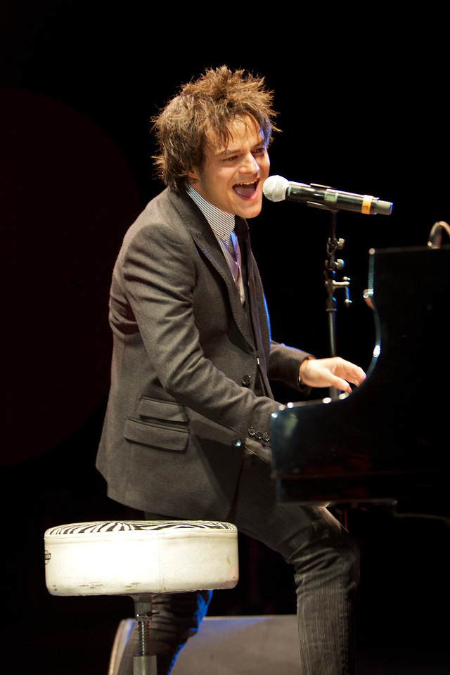 Jamie Cullum in concert at Jazz a Juan on 7/20/11