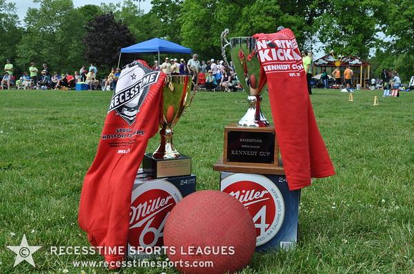 Summer Thursday Kickball Teams/Action 2012
