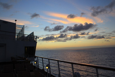 Day at Sea Nov 7--Transatlantic