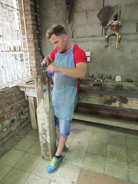 Silversmith craftsman