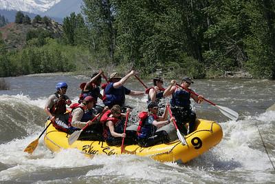 Leavenworth White Water Rafting 2008