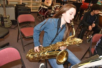 AMHS Band Practice photos by Gary Baker