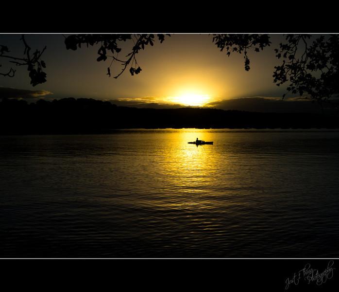 Careel Bay Paddler