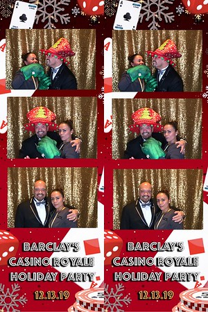 Intercontinental Barclay Holiday Party 2019