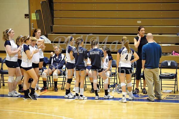 Wyomissing VS Muhlenberg Girls Volleyball 2011 - 2012