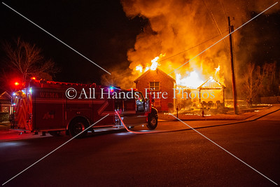 20201114 - Unincorporated Mount Juliet - House Fire