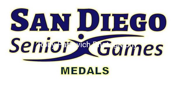 2018 San Diego Senior Games MEDALS