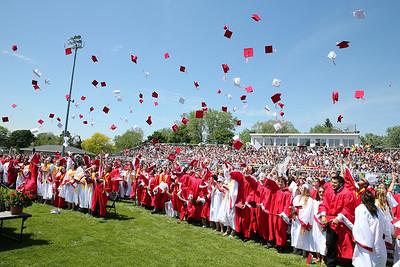 6/1/2014 - High School Graduation (Receiving Diplomas)