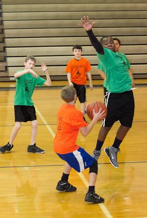 Little League Basketball 2011 Green Vs. Orange