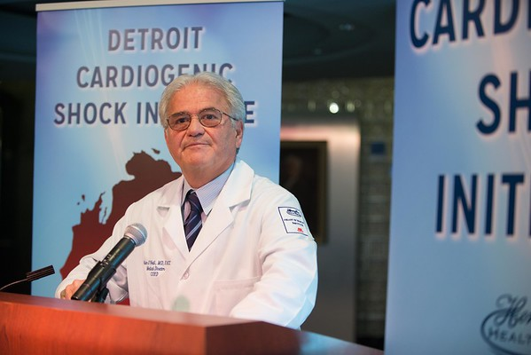 Dr. O'Neill cardiology initiative press conference