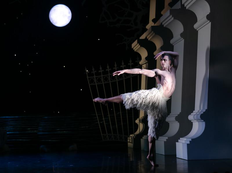 Matthew Ball, a principal of the Royal Ballet