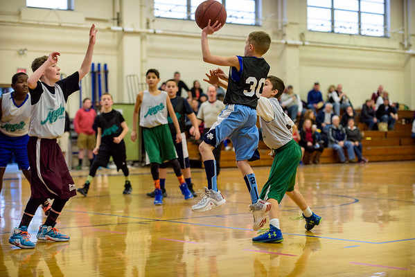 20160213 St. Patrick CYO Mites All Star Game