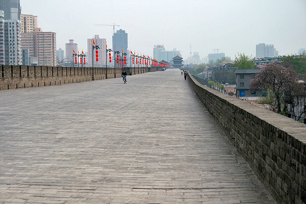 Walking the Xian City Wall