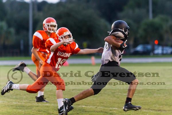 Boone Freshman Football #19 - 2012