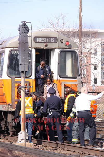 Malden, MA - Train Fire, Commercial Street, 3-18-11
