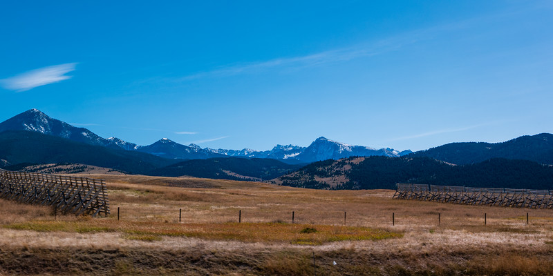 Near Livingston, MT