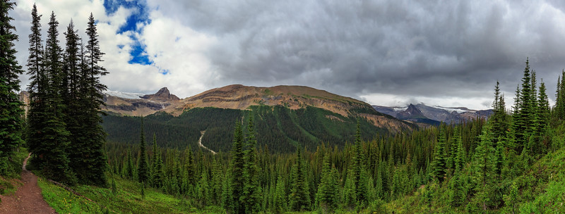 Little Yoho Valley And The Whaleback