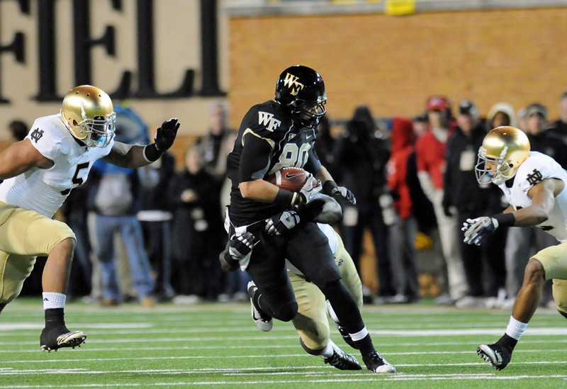 Andrew Parker tackled after catch downfield.jpg