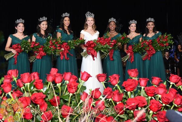 Rose queen coronation 2015