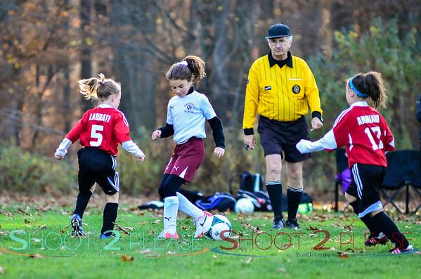 Nov 9 2014 - U9 Girls Soccer