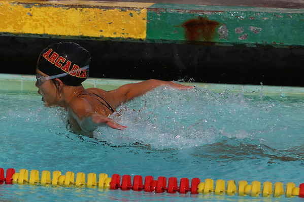 20120411 Arcadia High School Swim Meets