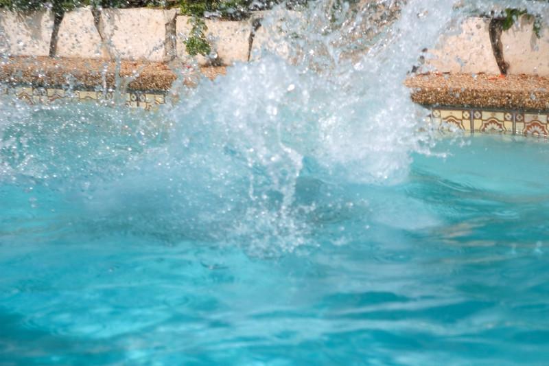 ...and splash