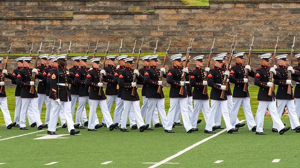 US Marine Corps Silent Drill Platoon