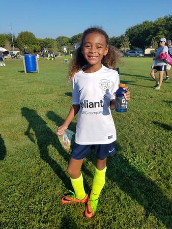 2017-09-30 Cheetahs Soccer - Game 2