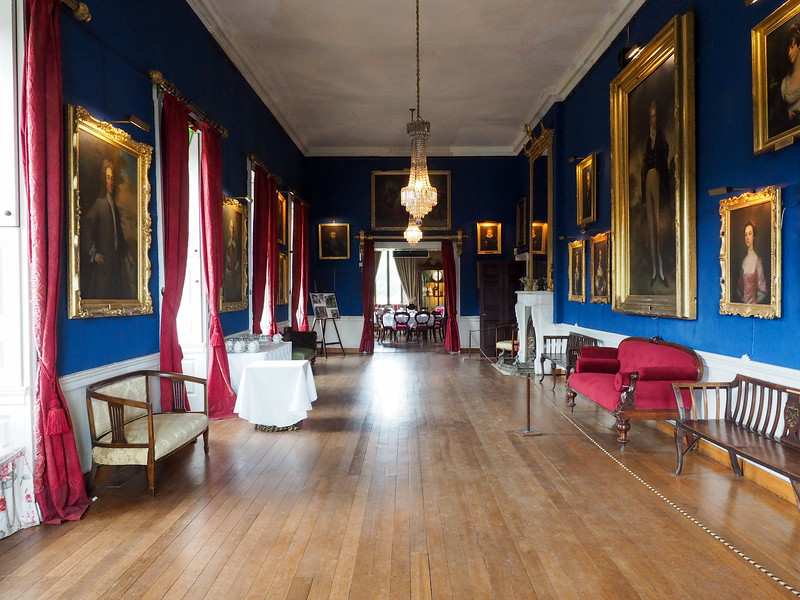 Inside Westport House in Ireland