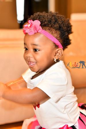1st Birthday Isabella Adeyanju