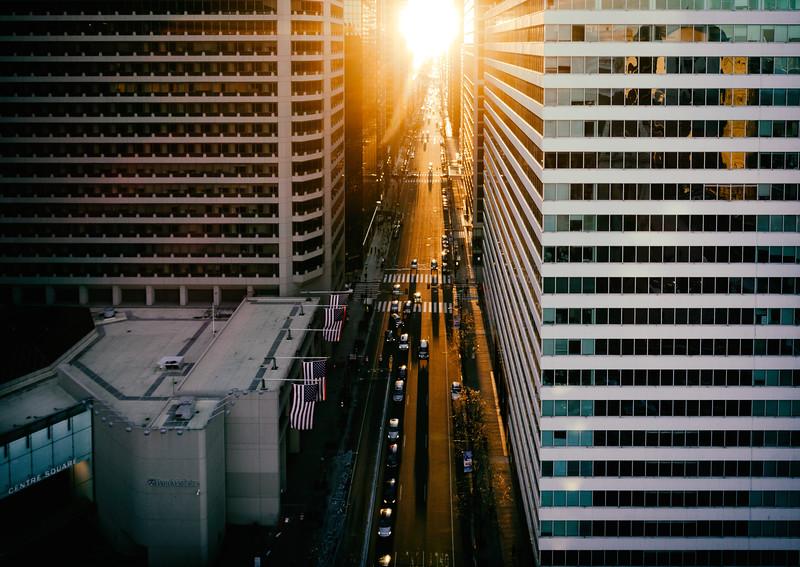 Sunset on Market - Philadelphia-.jpg