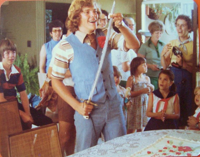 Michael Skinner's Graduation, Ronnie Creager, Lynn Creager, Julie Firestone,