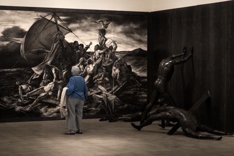 November 17 - Viewing art at the Weisman Museum of Art at Pepperdine, Malibum CA_.jpg