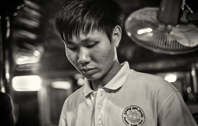 Vietnam: People in Black and White