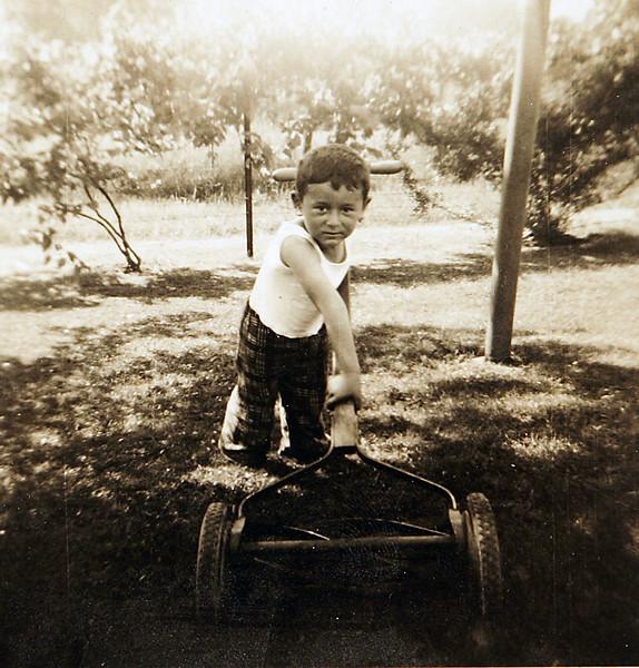 George mowing the lawn.JPG