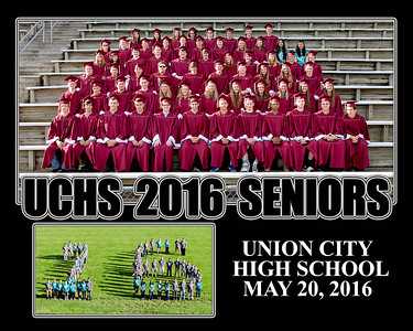 Union City High School Seniors Last Day 5-20-2016