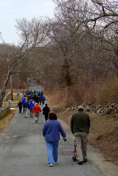 Seal Walk - March 2014