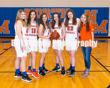 2019 - 2020 North Marshall Middle School Girls Basketball