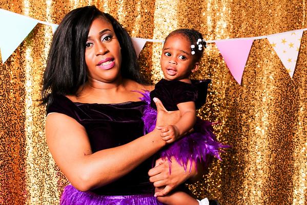 Zemira's 1st birthday