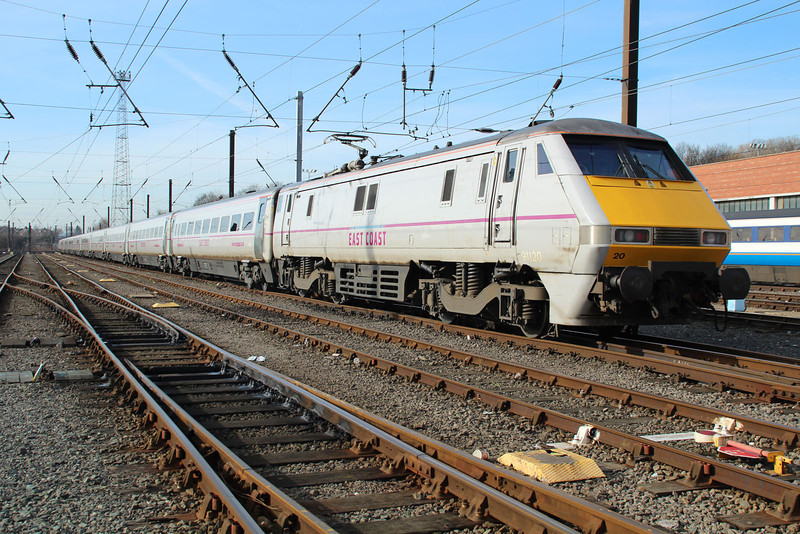 91120 stabled at Neville Hill.