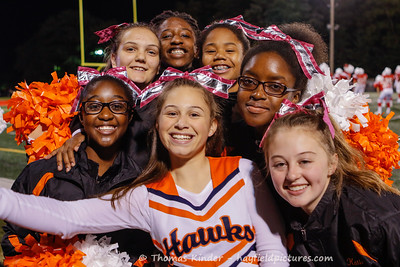 Frosh Cheer Annandale 10/10/16