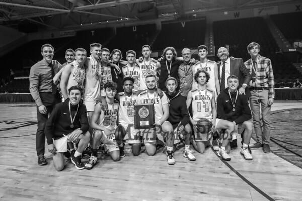 2020-2-21 York Boys Basketball vs Falmouth