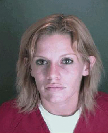 Description of . Nicole Renae Depaolo, suspect for