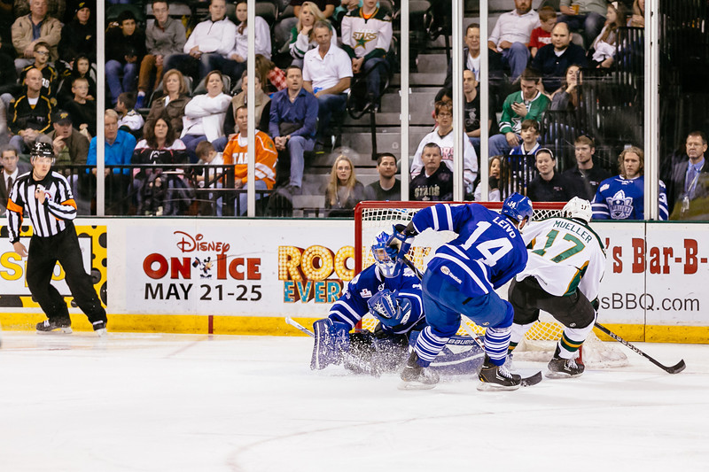 Texas Stars vs Toronto Marlies at Cedar Park Center - May 23, 2014 - Marlies win 5-1