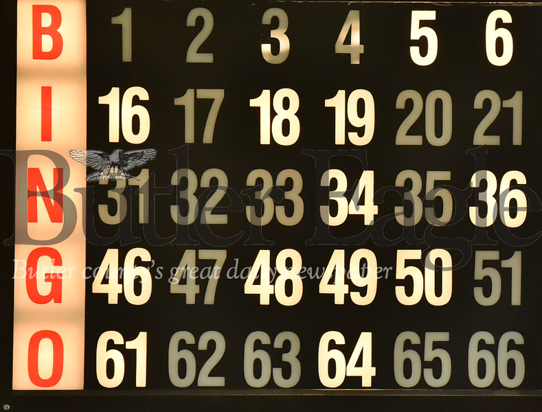 Bingo feature  at Tanglewood in Butler