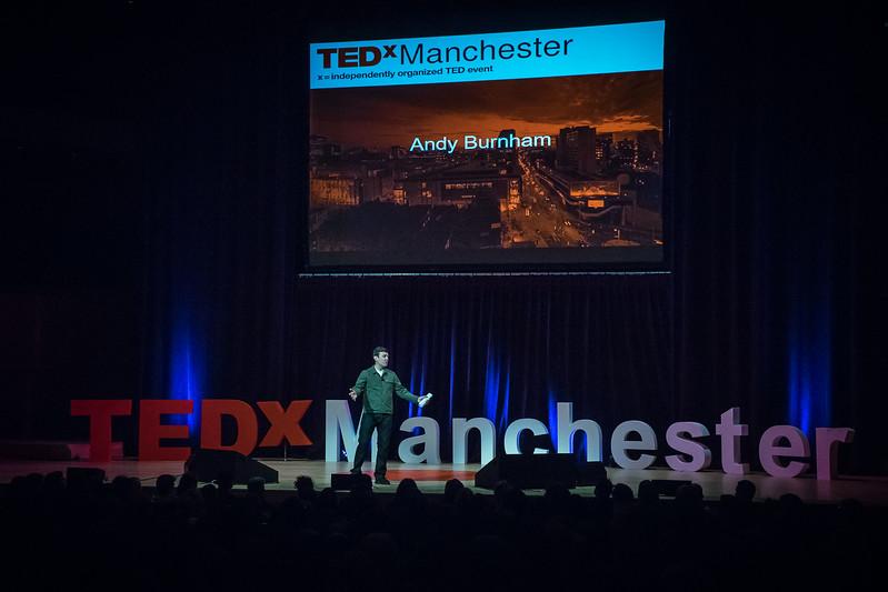 Andy Burnham at TEDxMCR 2018