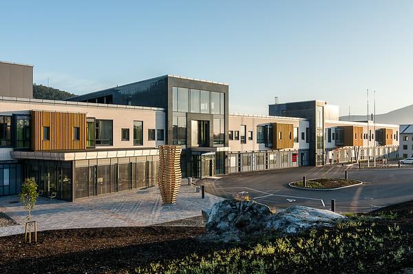 NLSH Vesterålen - nytt lokalsykehus på Stokmarknes/ New local hospital at Stokmarknes