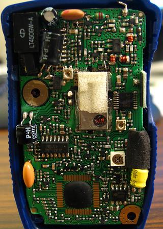 Motorola Walkie Talkie 7megapix Macroshots