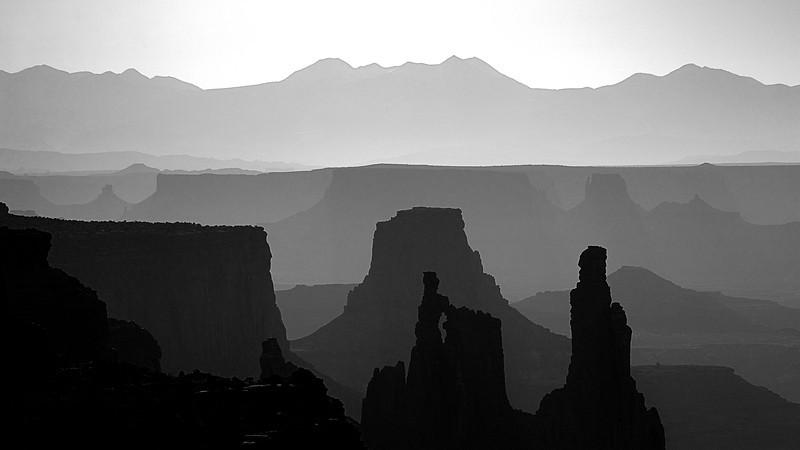 Canyonlands through Mesa Arch
